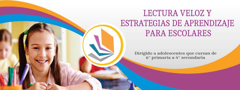 Lectura velos y estrategias de aprendizaje para escolares